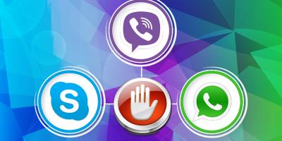 В России хотят запретить звонки по Skype, WhatsApp и Viber