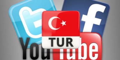 В Турции заблокировали работу социальных сетей