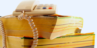 Российская цензура заблокировала электронные телефонные справочники